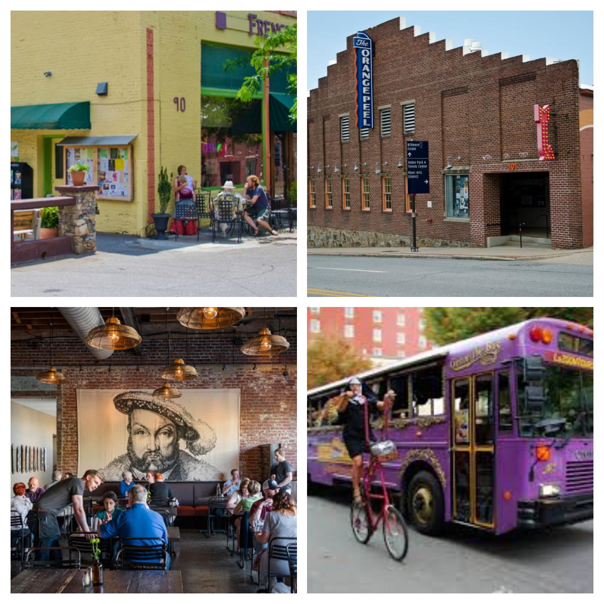 Sites Around Downtown Asheville